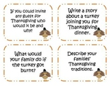 60 Thanksgiving Writing Prompts and Story Starter Task Cards