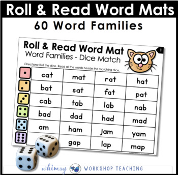Roll and Read 1- Word Families