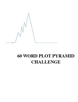 60 Word Plot Pyramid Challenge