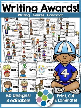 Writing Awards for Genres and Grammar