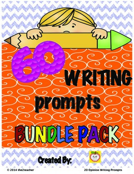 Writers Workshop:  BUNDLE - Narrative, Journal and Opinion Prompts