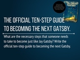 60 Writing Prompts for The Great Gatsby