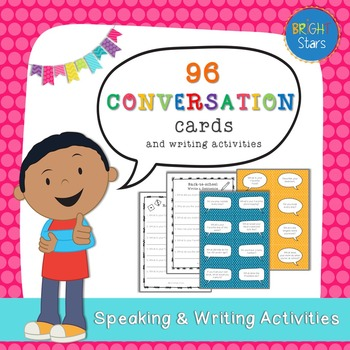 96 Conversation Questions & Writing Activities