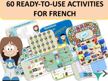 60 ready-to-use activities for French