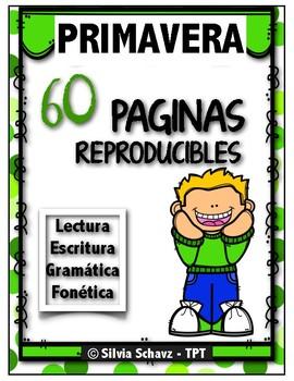 60 reproducibles de primavera ¡En español!