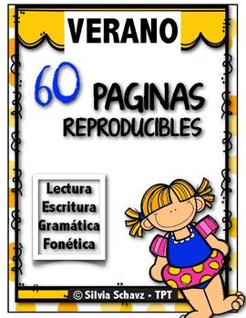 60 reproducibles de verano ¡En español!