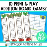 Addition Games for First Grade