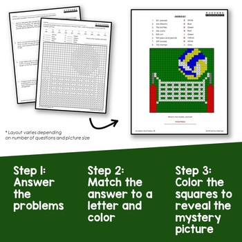 2nd Grade Addition With 3 Digit Numbers Word Problems Coloring Worksheets