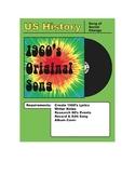 Write a 1960's Song & Create a 1960's Album Cover