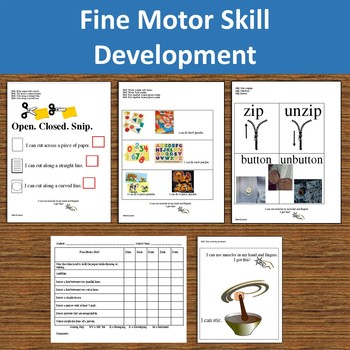 Fine Motor Skills for School Success--61 Essential Skills