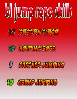 61 Jump Rope Skills Bundled