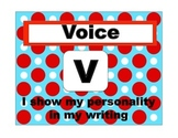6+1 (VOICES) Writing Bulletin Board