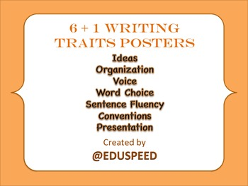 Writing Traits (6+1 writing traits)