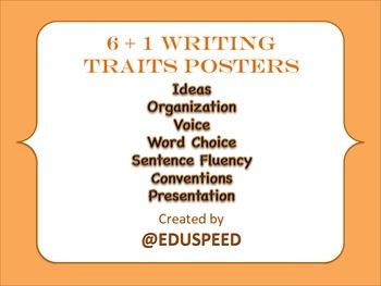 Writing Traits (6+1 writing traits)