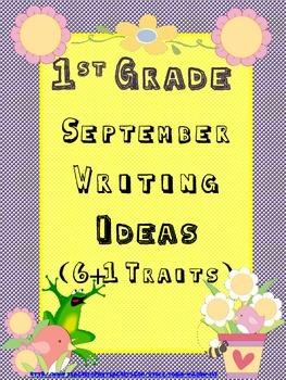 6 Traits Writing Ideas: Writing Ideas