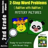 2nd Grade 2-Step Word Problems, Two Step Addition Word Problems