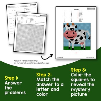 2nd Grade Base 10 Numeral To Expanded Form Multiple Choice, Match Columns