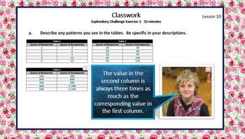 6.1.B Math Module 1 Topic B Engage New York Eureka Math Sixth Ratios