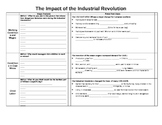 UNIT 10 LESSON 2. Impact of the Industrial Revolution GUIDED NOTES