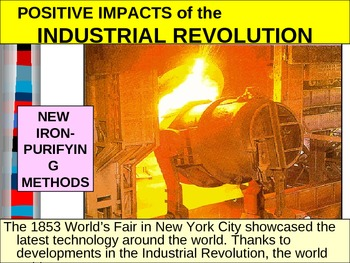 UNIT 10 LESSON 2. Impact of the Industrial Revolution POWERPOINT