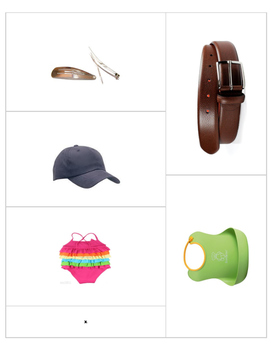 62 clothing and accessory flashcards