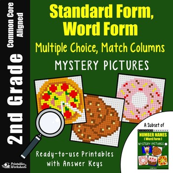 2nd Grade Standard Form Expanded Form Teaching Resources Teachers