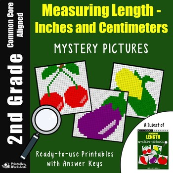 2nd Grade Measuring Length - Inches And Centimeters
