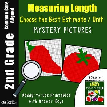 2nd Grade Length Worksheets - Choosing Best Estimate And Unit