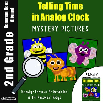 2nd Grade Telling Time In Analog Clock