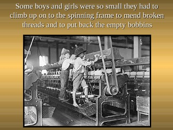 UNIT 10 LESSON 3. Child Labor Picture Show POWERPOINT