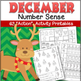 Christmas Number Sense 63 Activity Printables for Early Learners