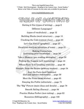 6301-11 Reading Primary Sources