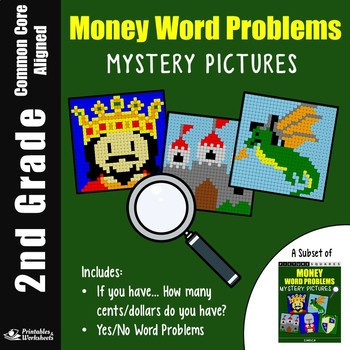 2nd grade Money Word Problems (If you have..., Yes/No Questions)
