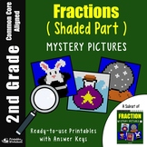 2nd Grade Fraction - Shaded Part