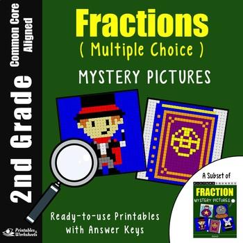 2nd Grade Fraction Basics - Multiple Choice