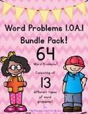 64 First Grade Common Core Word Problems! 1.OA.1 / 1.OA.A.1