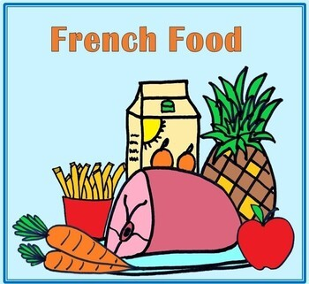 64 French Food Mini-Flashcards
