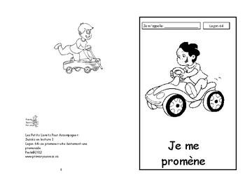 64) Je me promène livret de lecture ENFANT C1 1ère-2e
