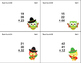 64 Math Task Cards 2nd Grade Adding 3 Two-digit Numbers-Cinco de Mayo