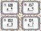 64 Multiplication Task Cards - Sports Theme