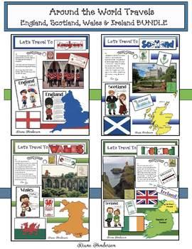 """""""While I Design"""" Around The World Travels United Kingdom BUNDLE"""
