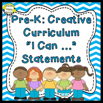 """64 Pre-K """"I can …"""" Statements"""