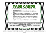 Money, Input/Output, Time & Frames & Arrows. 64 Task Cards - 3 levels