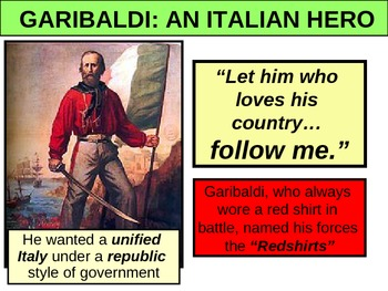UNIT 10 LESSON 4. Unifications of Germany and Italy POWERPOINT