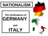 WORLD UNIT 10 LESSON 4. Unifications of Germany and Italy POWERPOINT