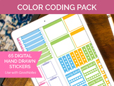 65 Digital Color Coding Clip Art - Sticker PNGs and GoodNo