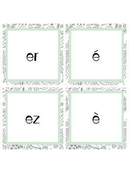 65 French Sound Cards - Cartes de sons français