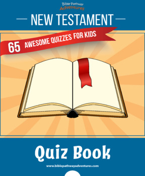 65 New Testament Quizzes Activity Book