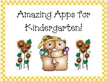 66 Amazing Apps for Kindergarten