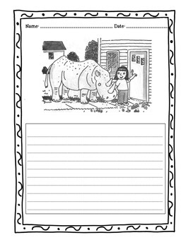 """""""66 Writing Prompts With Pictures"""" - Bundle"""
